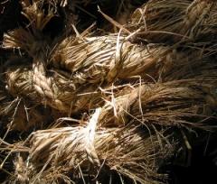 hemp rope and fibers