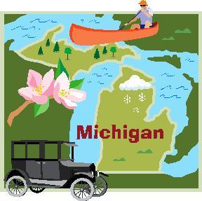 Michigan collage