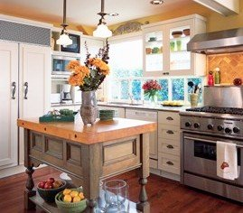 green and eco friendly kitchen